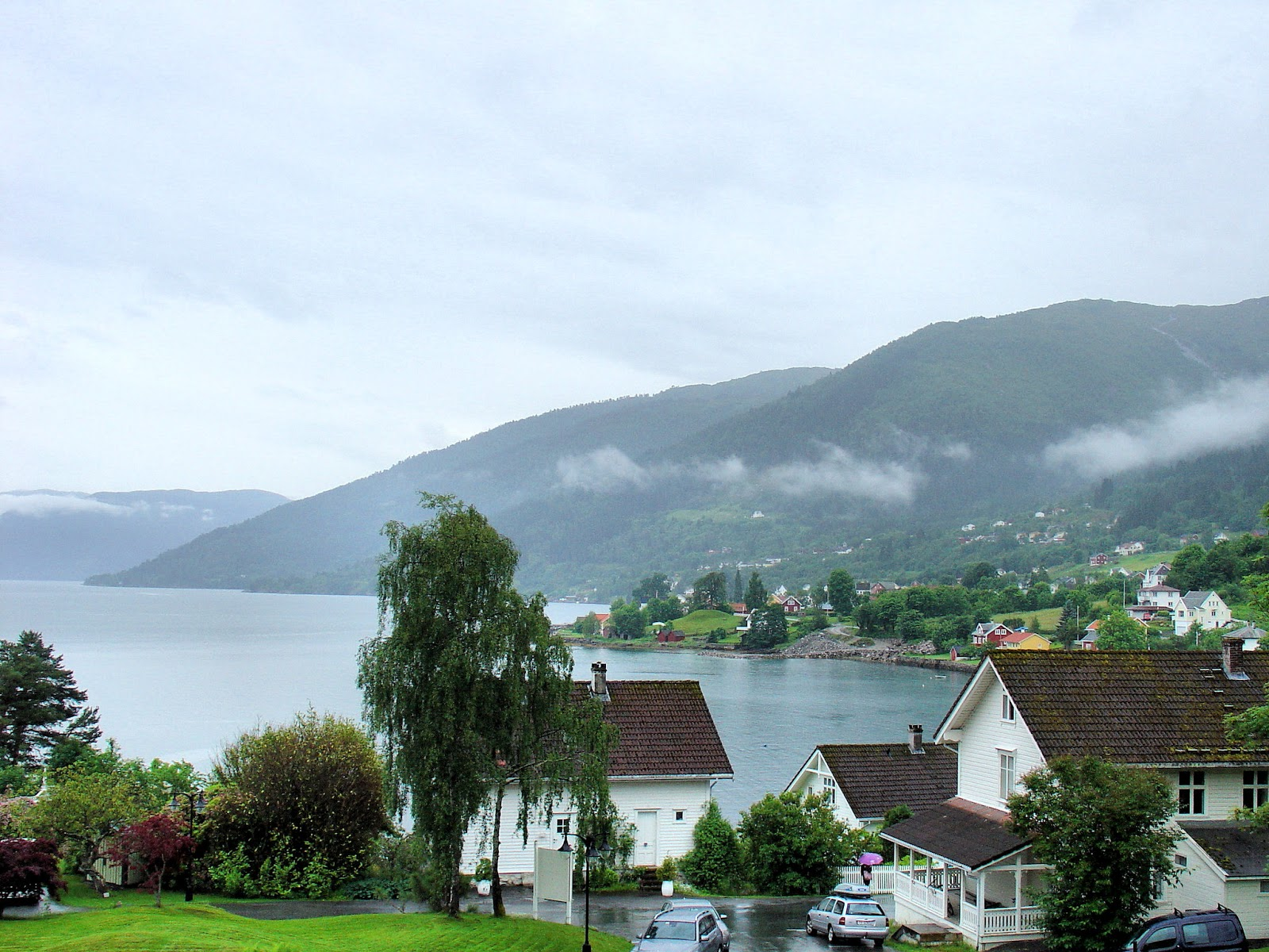 The enchanting village of Balestrand, Norway. Things haven't changed much since Astrup's time. Photo: EuroTravelogue™. Unauthorized use is prohibited.
