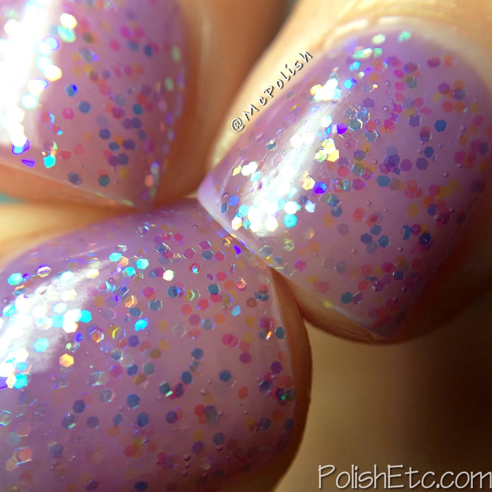 Pure Ice - New Year New Hue Jellies - Purple Haze - McPolish - Macro