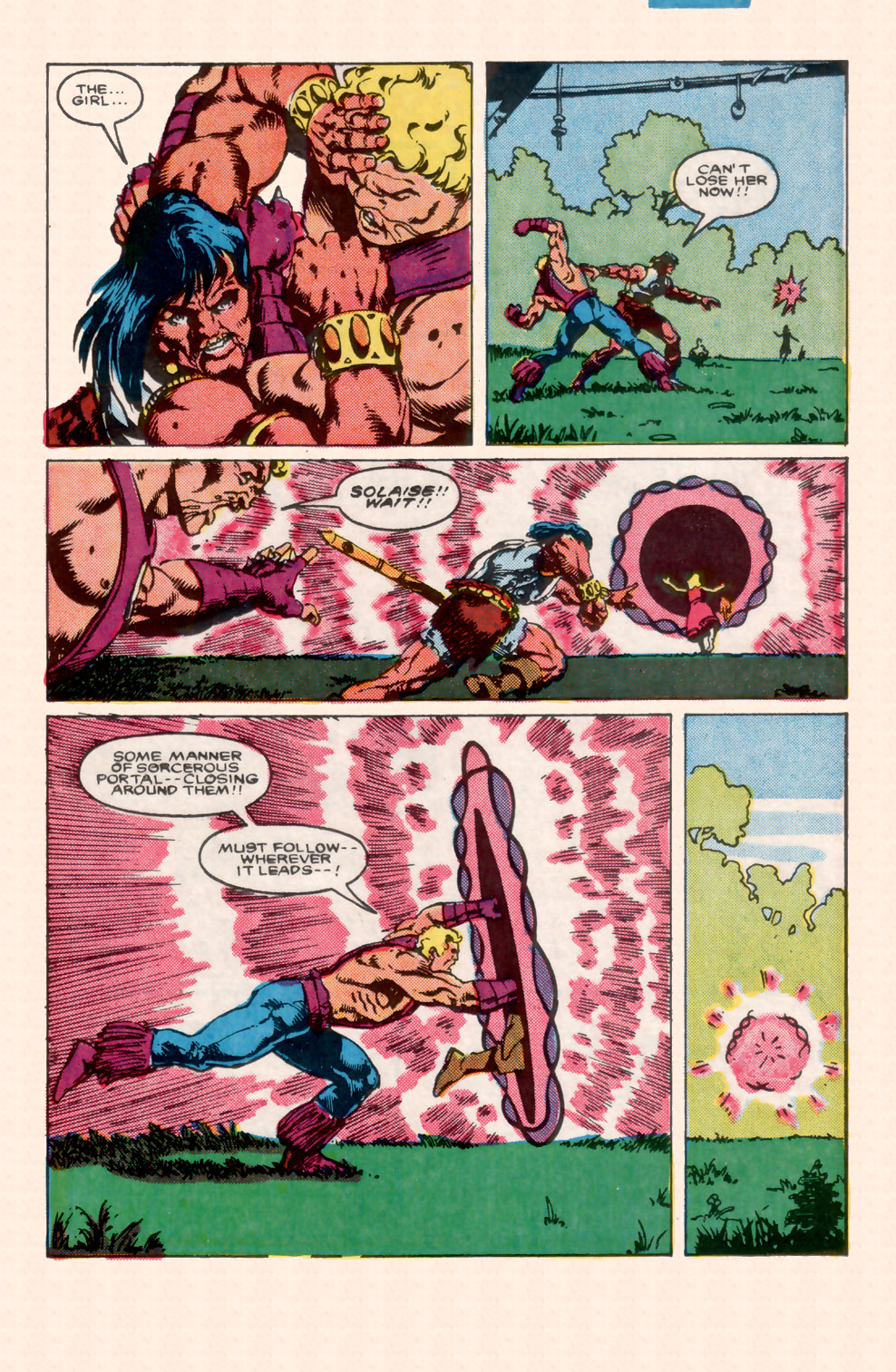 Conan the Barbarian (1970) Issue #199 #211 - English 9