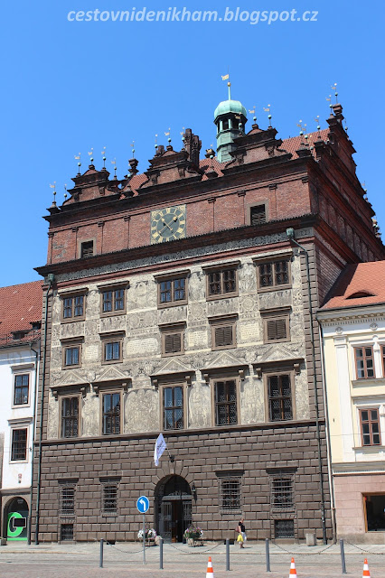 plzeňská radnice // a town hall in Pilsen
