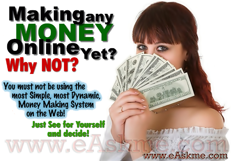 Ideas to Make Money Online : eAskme