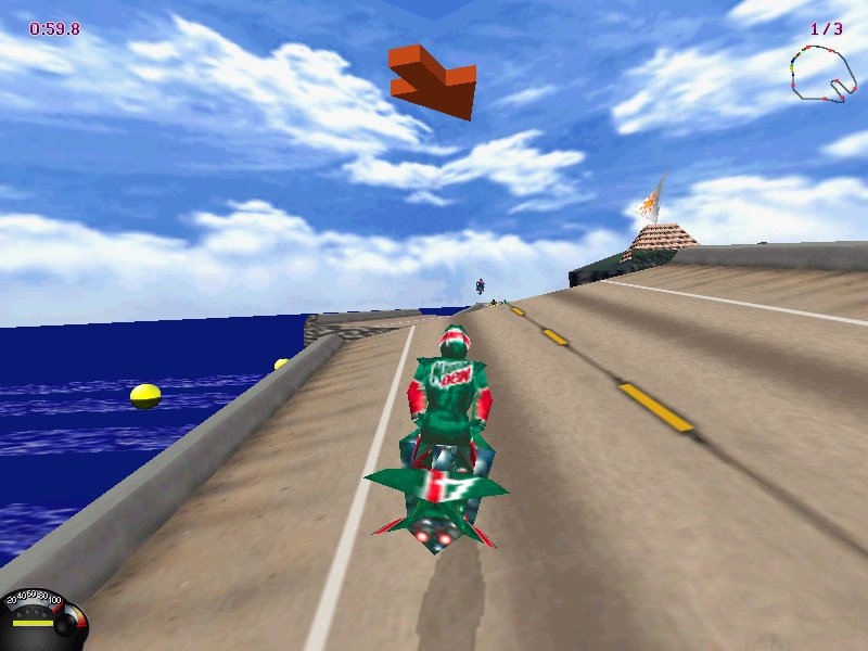 Jet Moto Game ScreenShot