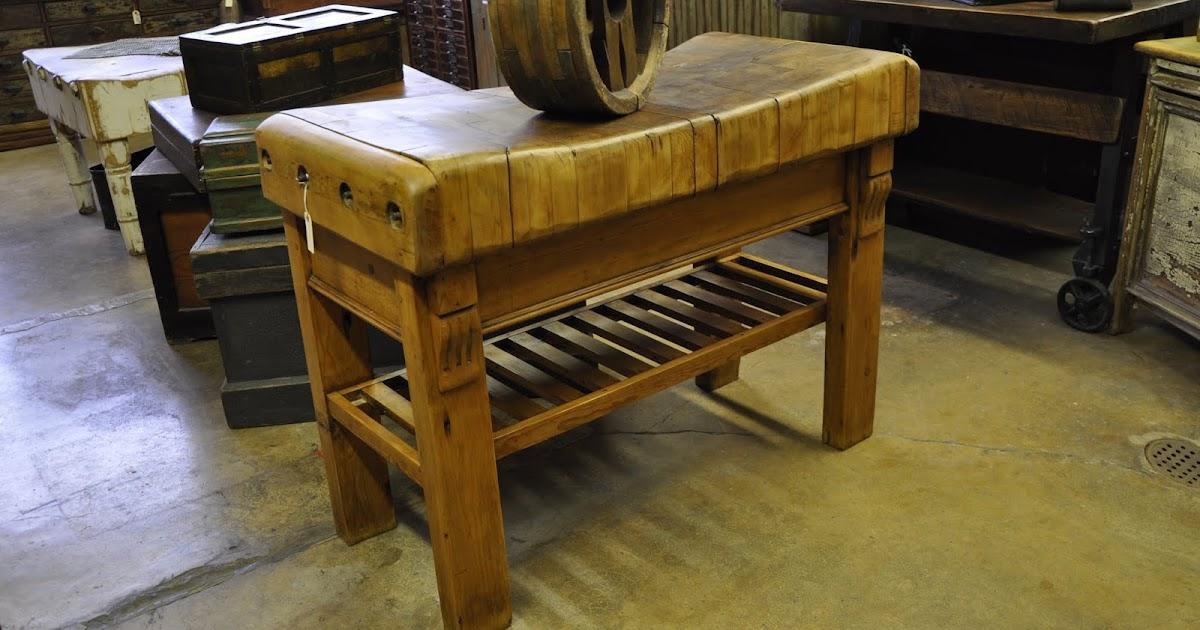 Oklahoma Barn Market Butcher Block Table