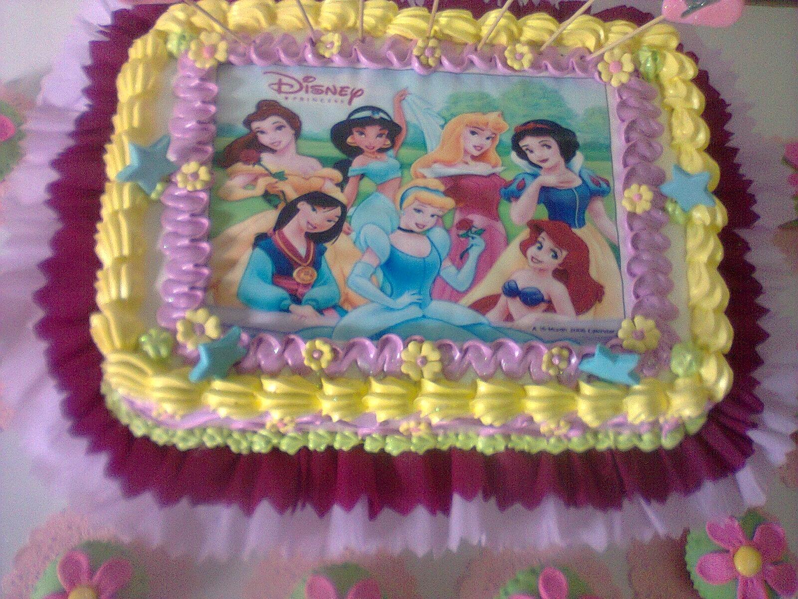 Tortas decorada de princesa - Imagui