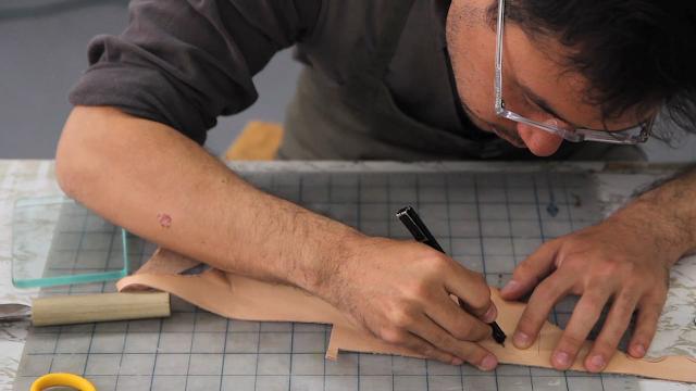 John Cho Moore Handmade Bamboo & Canvas Bags