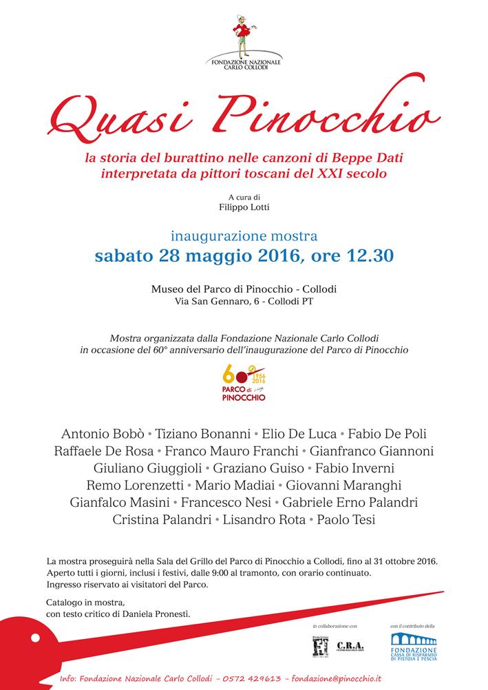 """""""Quasi Pinocchio"""" a cura di Filippo Lotti"""
