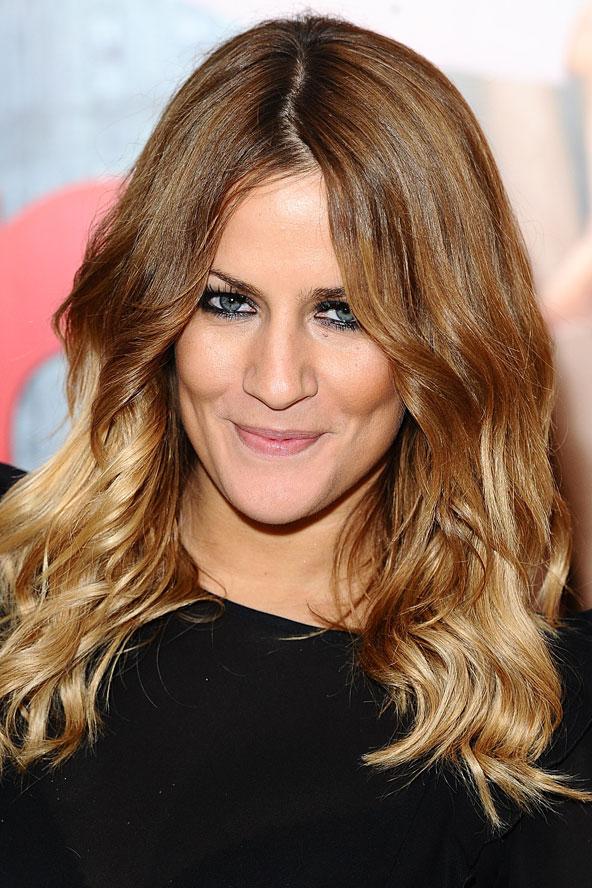 Dark Brown To Blonde Dip Dye Hair Extensions 90