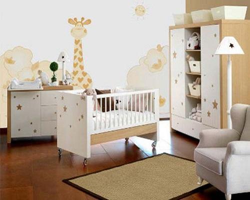 Décoration murale chambre bébé - Bébé et décoration - Chambre ...