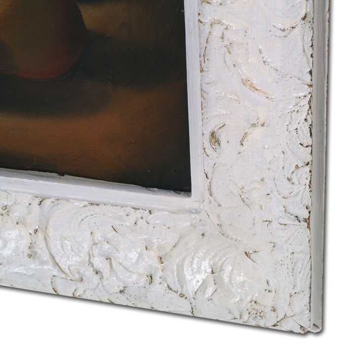 Mobili shabby chic atelier myartistic cornice shabby chic for Cornici per quadri shabby chic