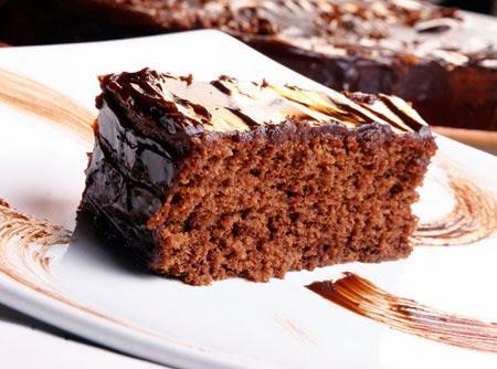 Receita de Bolo de Chocolate com cbertura