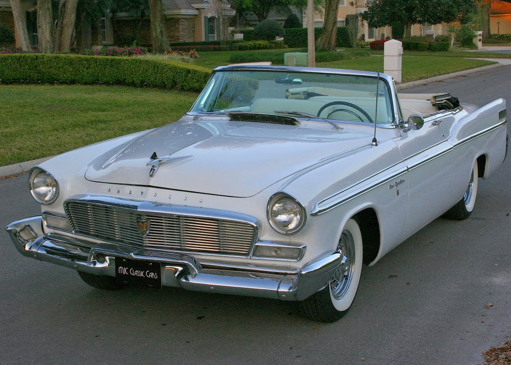 all american classic cars 1956 chrysler new yorker 2 door convertible. Black Bedroom Furniture Sets. Home Design Ideas