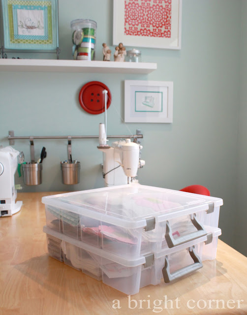ArtBin quilting project storage
