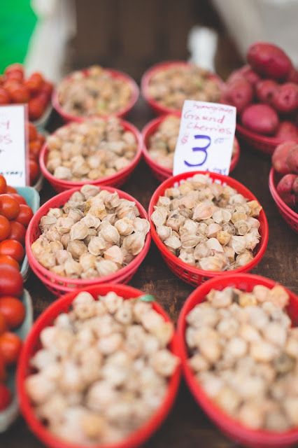 Groundcherries in a farmer's market