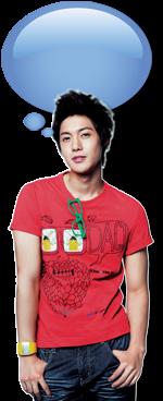 Bubble Widget Animasi Kim Hyun Joong