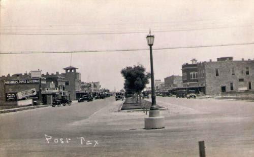 1920's texas