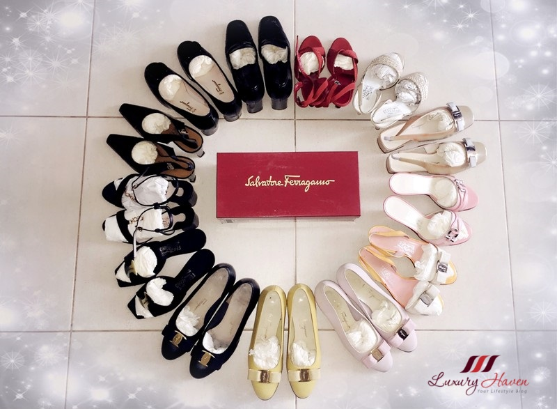 hollywood favourite salvatore ferragamo ballerinas