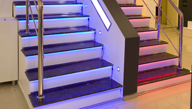 18 amazing colorfull stairs design stairs design for Stair designer online