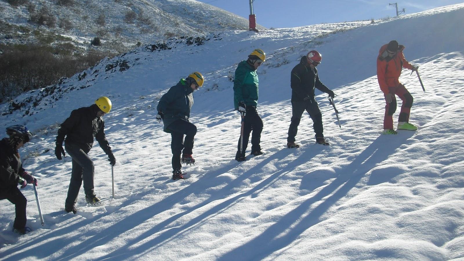 Curso iniciación al alpinismo invernal