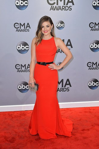 Lucy Hale CMA Awards 2014