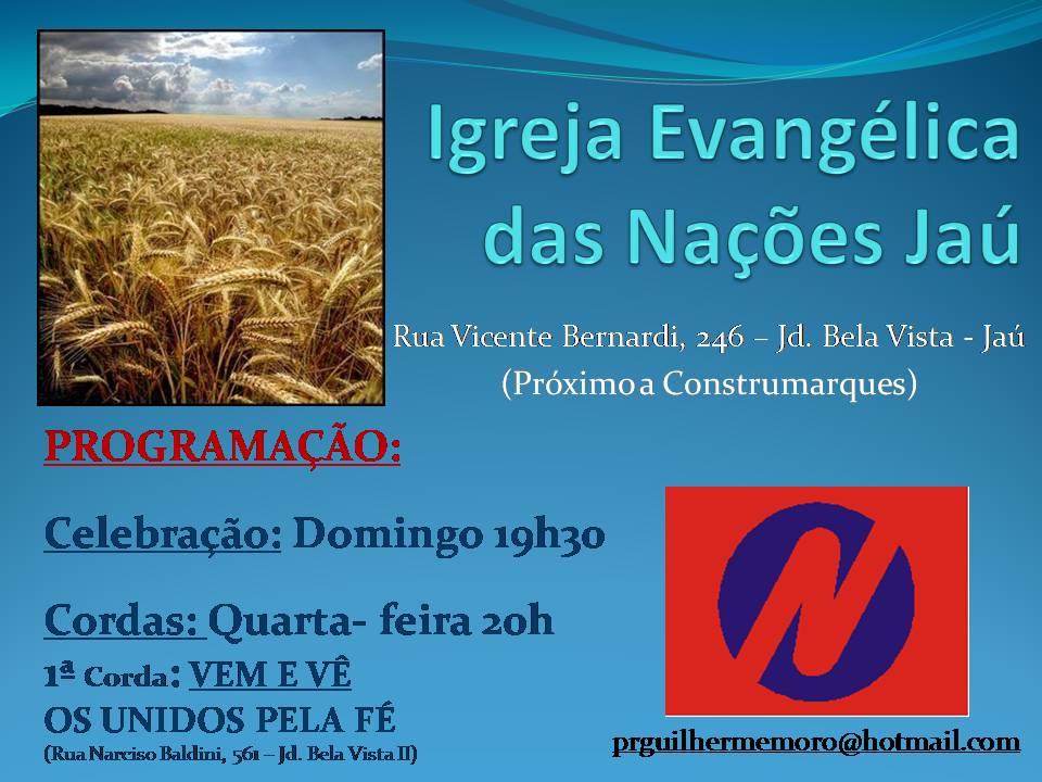 Igreja Evangélica das Nações Jaú