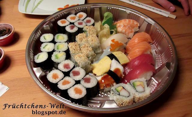 Aufnahme Sushi