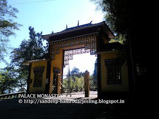 palace monastry of gangtok sikkim