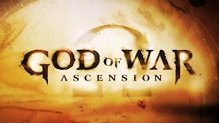 God of War Ascension Logo HD Wallpaper
