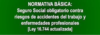 Ley 16.744.