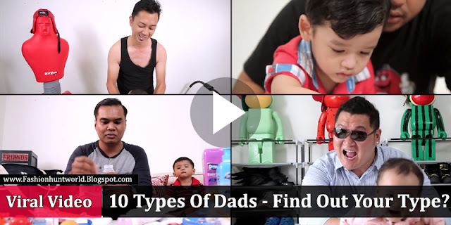 10 Types Of Dads, Find Out Your Type