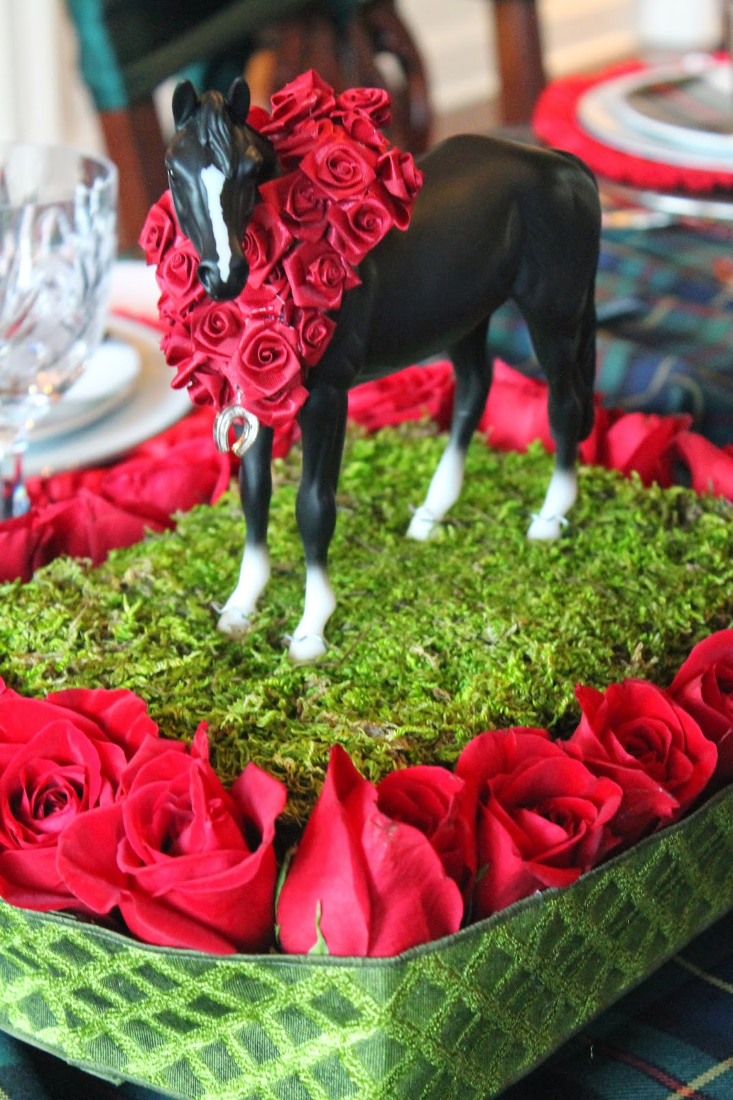 The polohouse kentucky derby party tablescape