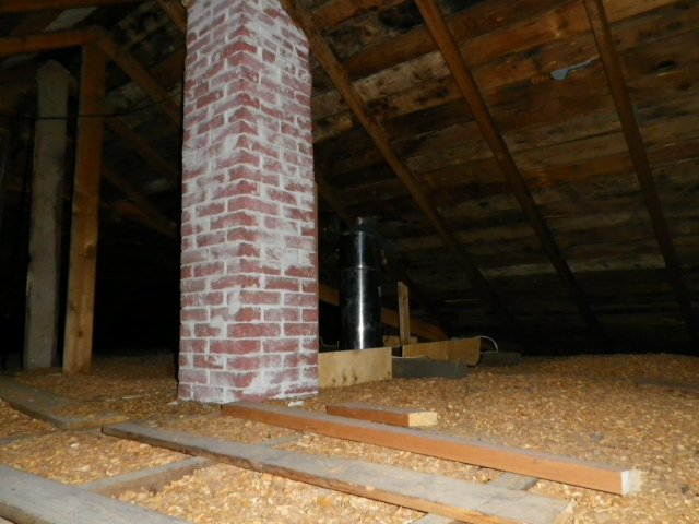 Removing attic wood chip insulation about the house by hugh cairns adding attic insulation to your home particularly for an older home that lacks sufficient insulation can increase the homes value solutioingenieria Image collections