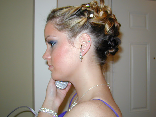 cool medium length prom hairstyle