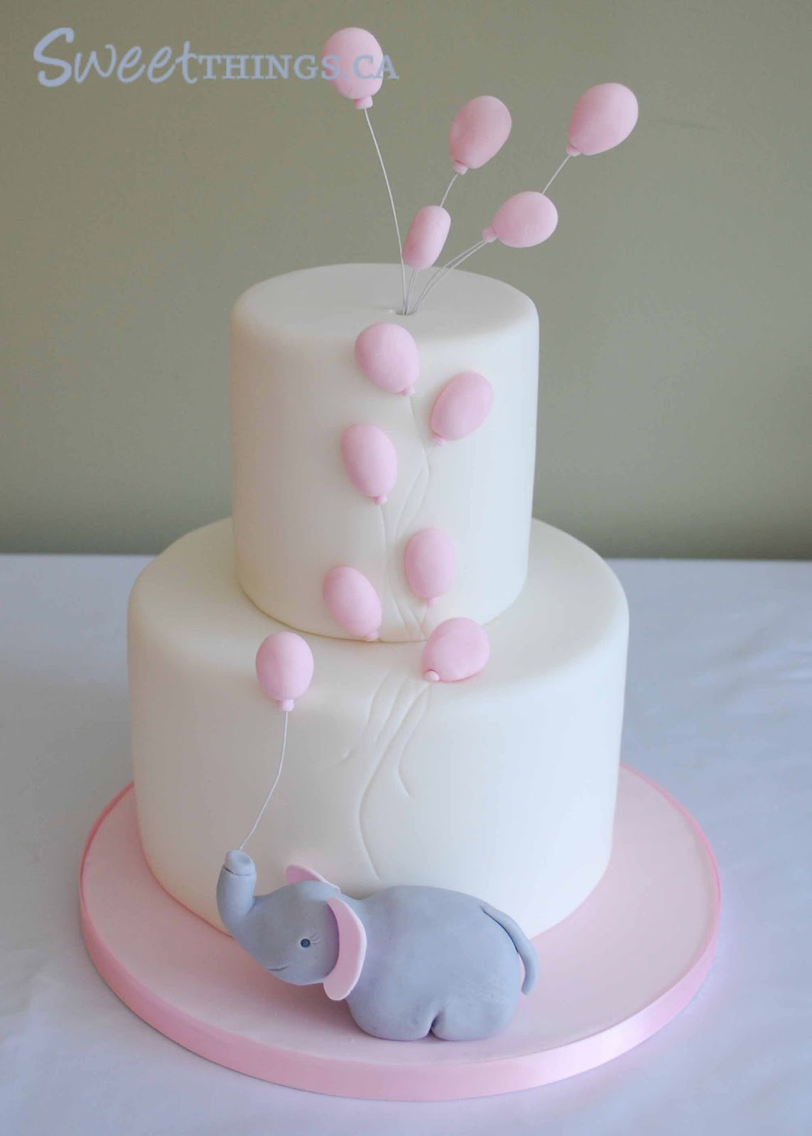 One of my most popular posts was an elephant inspired baby shower cake ...