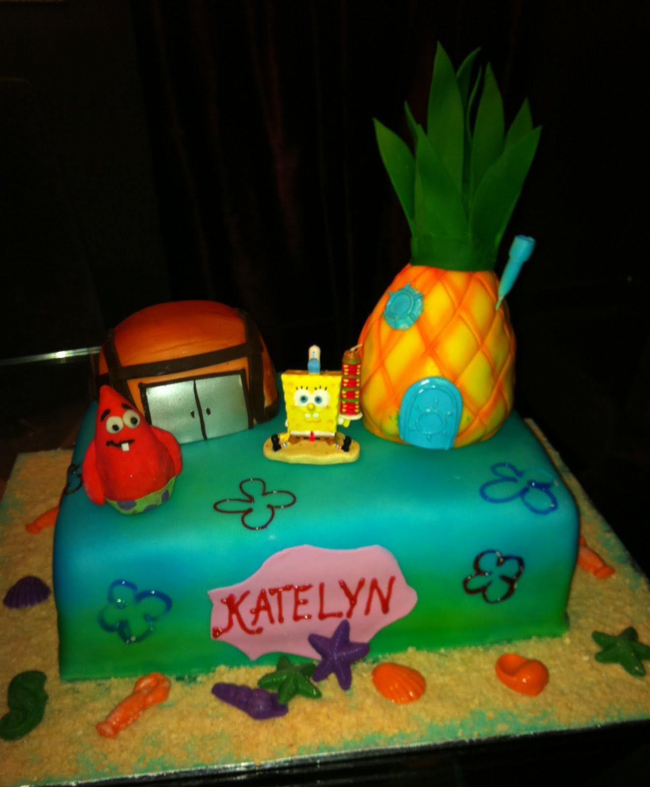 Jocelyns Wedding Cakes and More Sponge Bob and Patrick Star