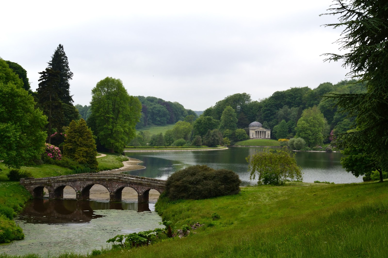 A Bracelet Of Days In The Gardens At Stourhead House