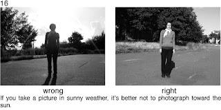 Совет 16. Когда проводите съемку в солнечный день, следите за положением солнца, оно должно быть у вас сзади, или хотя бы несколько сбоку.