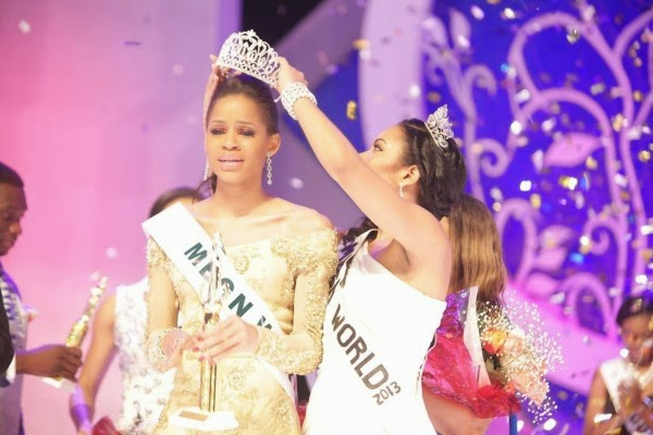Miss Most Beautiful Girl in Nigeria 2014 winner Iheoma Nnadi