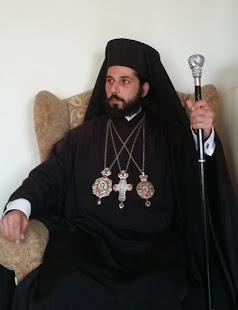 Ο Αρχιεπίσκοπος Αθηνών κ' Πάσης Ελλάδος των Γ.Ο.Χ. κκ Νεκτάριος Α'