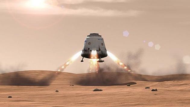 Módulo de descenso de Marte