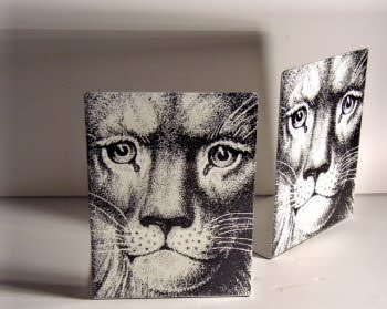 lion bookends