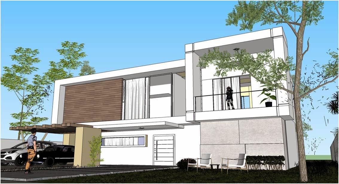 SKETCHUP TEXTURE SKETCHUP 3D MODEL MODERNE HOUSE 10