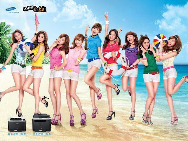Girls' Generation Beach Samsung