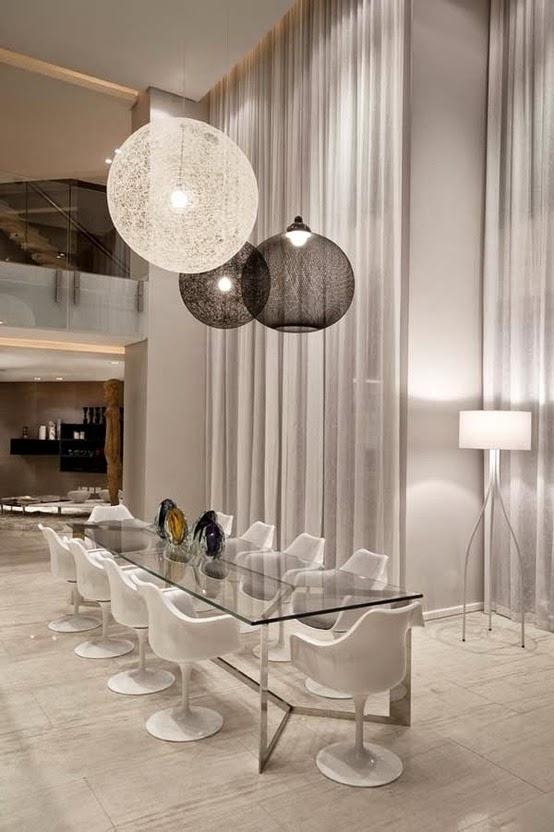 sala de jantar alto padrão