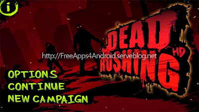 Dead Rushing HD Free Apps 4 Android