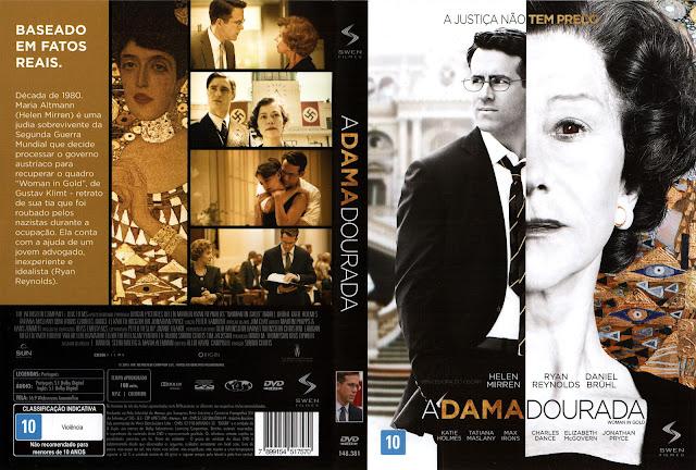 Capa DVD A Dama Dourada