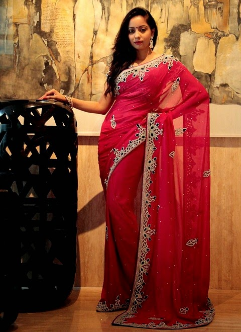 Eid Saree Collection 2014