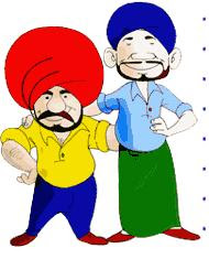 two sardars cartoon