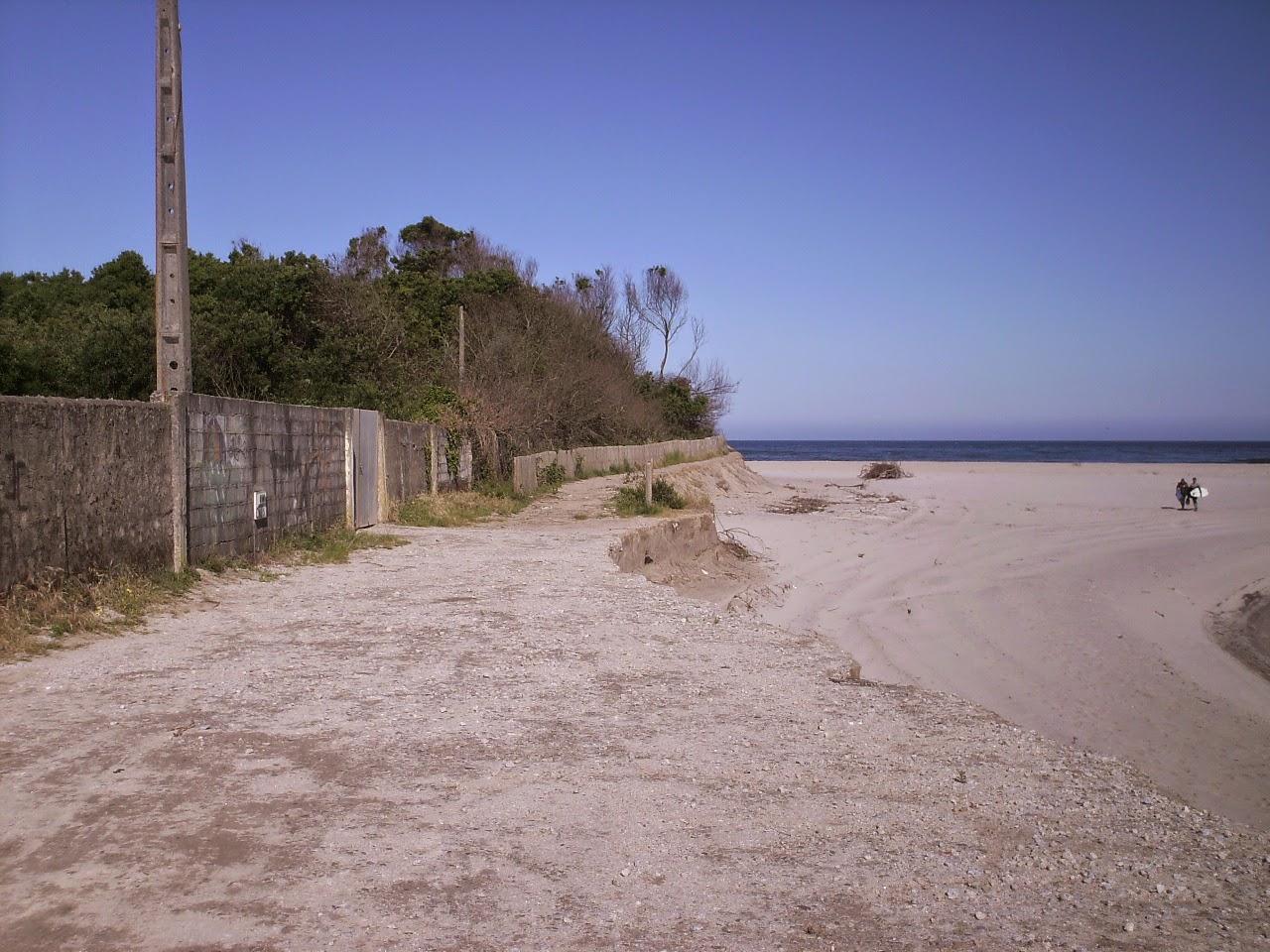 zona da duna dos caldeirões junto ao campo do âncora praia f.c.