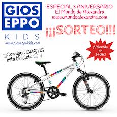 SORTEO ESPECIAL ANIVERSARIO CON GIOSEPPO KIDS