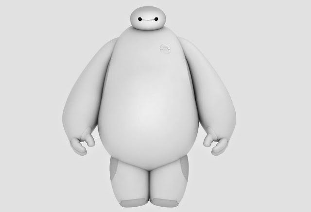 Download Disney Big Hero 6 Baymax Free 3d Model Cg Vfx